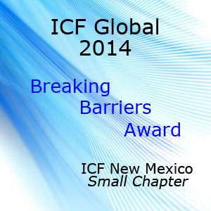Breaking Barriers Award ICF NM Small Chapter